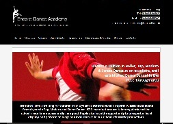 PCRez Website Portfolio image for EncoreDanceAcademy