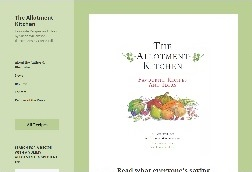 PCRez Website Portfolio image for TheAllotmentKitchen